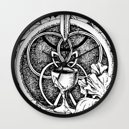 Goblet of space Wall Clock