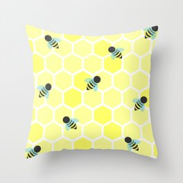 Oh Honey Throw Pillow