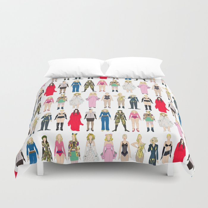 Outfits of Madge Fashion Duvet Cover