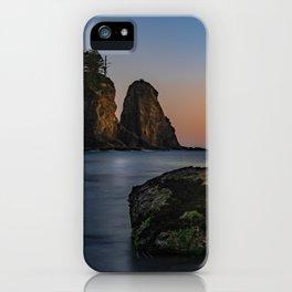 Sea Stacks at La Push iPhone Case