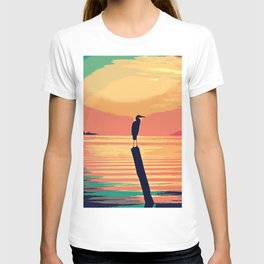 Tropical Sunset Waters T-shirt
