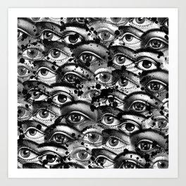 Watching You III Art Print