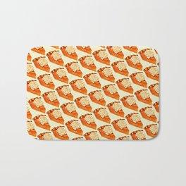 Pumpkin Pie Pattern Bath Mat