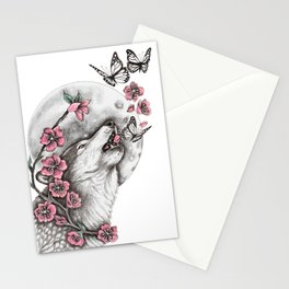 Call Of The Wolf Stationery Cards