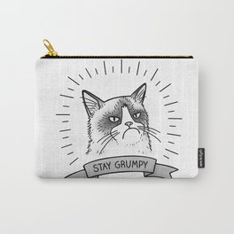 Stay Grumpy Carry-All Pouch