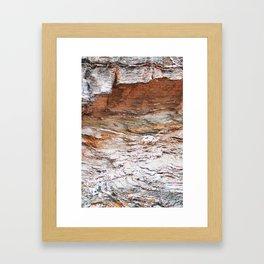 22. Set in Rock, Bretagne, France Framed Art Print