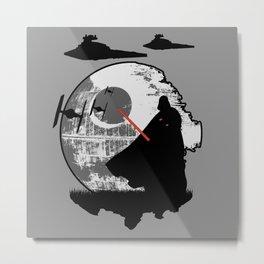 Darth Vader Moonglow Metal Print