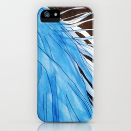 Karou and the Moons iPhone Case