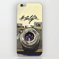selfie iPhone & iPod Skins featuring Selfie by kaiartem