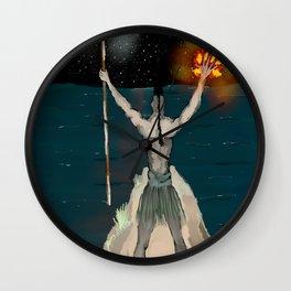 EN LA OFRENDA Wall Clock