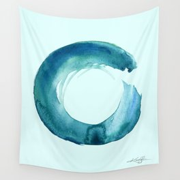 Serenity Enso No. 1 by Kathy Morton Stanion Wall Tapestry