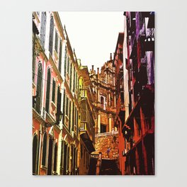 the little Macau from the LOVE ROAD Canvas Print