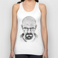 walter white Tank Tops featuring Walter White by 13 Styx