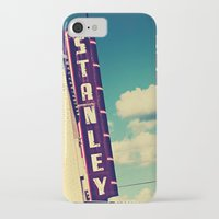 stanley kubrick iPhone & iPod Cases featuring Stanley by Trish Mistric