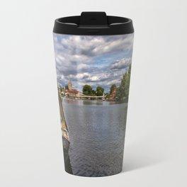 The River Thames At Marlow Travel Mug