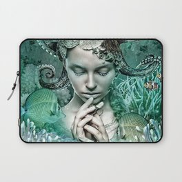 Her love is secure like currents that hold tight Laptop Sleeve