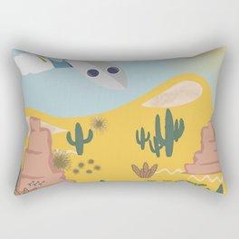 Crash Landing 51 Rectangular Pillow