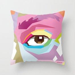 Lewis ICU Throw Pillow