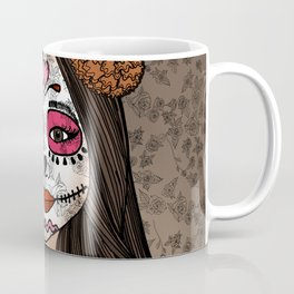 Gabriela on the Day of the Dead Coffee Mug