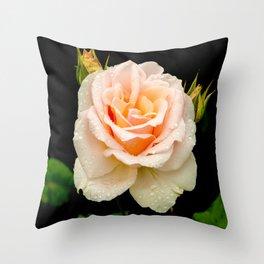 Johann Strauss Rose Throw Pillow