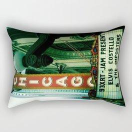 Elvis Costello Rectangular Pillow