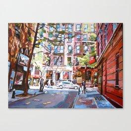 Minetta Lane, Greenwich Village Canvas Print