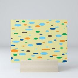 Floating Saucers Mini Art Print