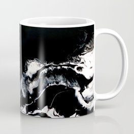 Mirrored Smoke Abstract Painting Coffee Mug