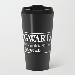 Hogwarts School of Witchcraft & Wizardry (Black) Travel Mug