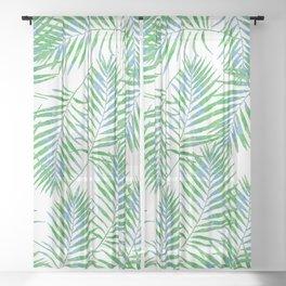 Fern Leaves Sheer Curtain