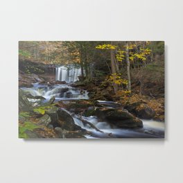 Oneida Falls Metal Print