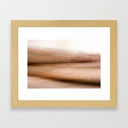 Deserted Hills Framed Art Print