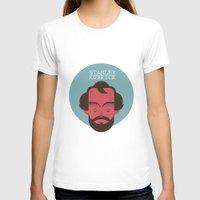 stanley kubrick T-shirts featuring STANLEY KUBRICK by Gerardo Lisanti
