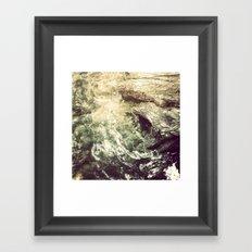 Sleeping under the River Framed Art Print