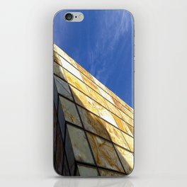 Blue Sky Project - Zaragoza iPhone Skin
