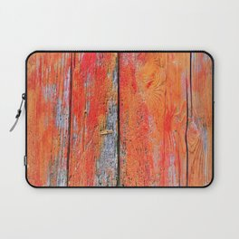 Weathered Wood Shutter rustic decor Laptop Sleeve