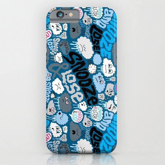 Snooze & Lose iPhone & iPod Case