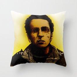 Strummer Throw Pillow