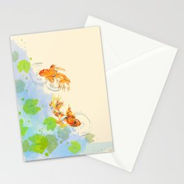 The Golden Pond Stationery Cards