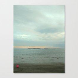 Pink Bucket Canvas Print