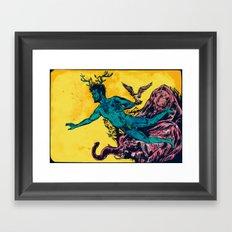 Adam/A new year Framed Art Print