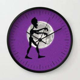 Friendly Zombie On The Go - Walk Wall Clock