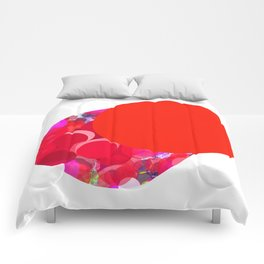 SexyPlexi dots  two love moons Comforters