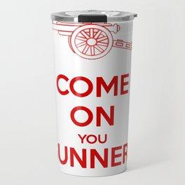 Come on You Gunners Travel Mug