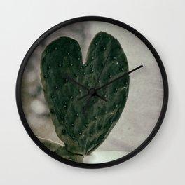 Padded Heart Wall Clock