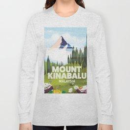 Mount Kinabalu Malaysia Long Sleeve T-shirt