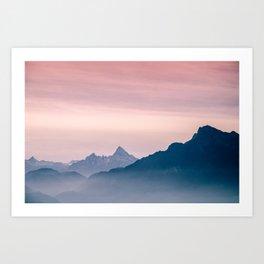 The Alps Art Print