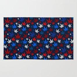 American Weed Pattern Rug