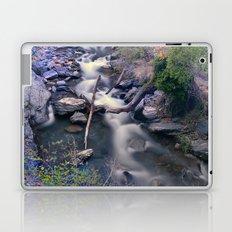 Mountain river in the night. Long exposure. Laptop & iPad Skin