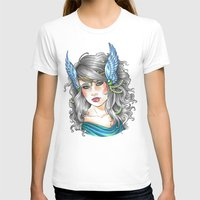 goddess T-shirts featuring Goddess by Little Lost Forest